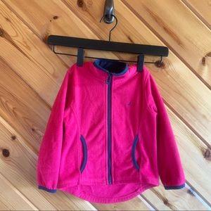 Nautica Toddler Fleece Zip Up Pink 2t Jacket